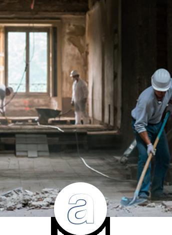 Avant travaux / démolition. Obtenir un rapport de repérage amiante (RAAT/RAAD)
